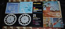 1973 Gaf Talking View-Master Reels Color 3-D Sound Bugs Bunny Elmer Fudd Retro