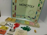 VTG 1961 Monopoly Board Game Parker Brothers Classic Original Box 60s Complete