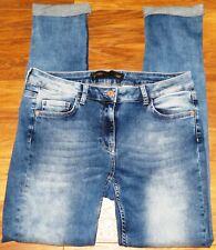 Womens🦋NEXT🦋blue stretch skinny denim jeans size 14R