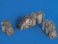 Verlinden 1/35 Tank Trap Obstacles WWII (3 Ruined Wall Sections) [Diorama] 2437