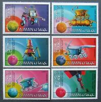 Ajman -Cosmonautics ,Perf.Set. MNH, AJ 041