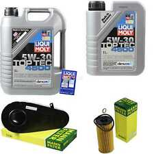 Inspection Kit Filter Liqui Moly Can Oil 6L 5W-30 for BMW 5er Touring F11