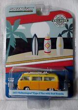 """2017 GreenLight """"Hobby Exclusive"""" 1971 Volkswagen Type 2 Van with Surf Boards"""