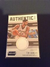 2015-16 Panini Threads Authentic Jersey Tim Duncan #32 San Antonio Spurs /#199