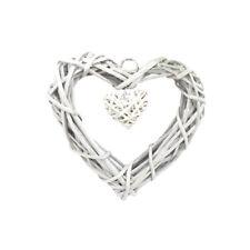 1pcs Love Hearts Wicker Crafts Rustic Wall Hanging Elegant Ornament for Wedding