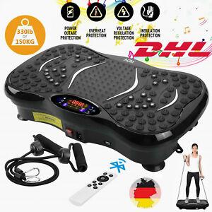 3D Vibrationsplatte Vibrations Shaper Trainingsgerät LCD Vibrations inkl.Zubehör