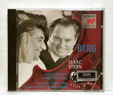 STERN SERKIN & ABBADO - BERG  violin concerto & chamber concerto SONY CD NM