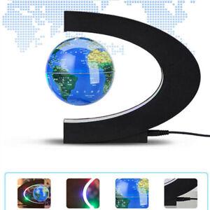 Magnetisch 7.6cm Weltkugel Coloful Lampe C Form Anti Gravity Für Teens Senioren