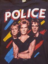 Rare OG Vintage 1983 The Police Rock Band Tour T Shirt Single Stitched