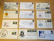 NASA Apollo 11 Neil Armstrong Museum 12 First Day Covers, Uncommon