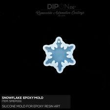 Epoxidharz Silikonform SNOWFLAKE Gußform Basteln Epoxy Resin Silicone Mold Art