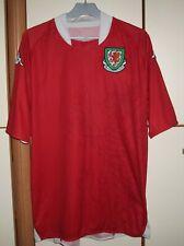 Wales 2007 - 2008 Home football shirt jersey Kappa 2XL