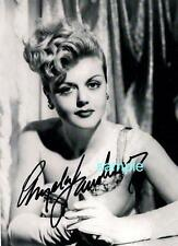 ANGELA LANSBURY REPRINT 8X10 AUTOGRAPHED SIGNED PHOTO PICTURE MURDER SHE WROTE