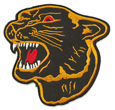 Ecusson patche Panthère noire panther thermocollant patch