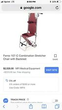 Ferno Washington Folding Stair Chair Evacuation Stretcher Portable EMS