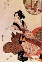 Utagawa Hiroshige Geisha Dress Art Print Poster 24x36 inch