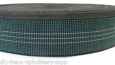 Elasticated JUMBO webbing 5m roll upholstery seat elastic upholstery webbing