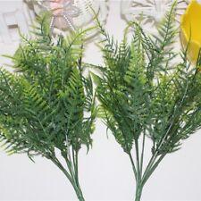 Grass Leaf Bouquet Artificial Silk Flower Fern Plant Green Grass Home JLU3