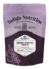 Organic Spirulina Tablets - 250 - Indigo Herbs