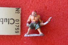 Games Workshop Citadel C04 ladrones Piratas Rogue ladrón Metal pre slotta 1980s