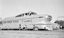 "Union Pacific (UP) Aero Train #116 ""City Of Los Vegas""  Black & White Print"