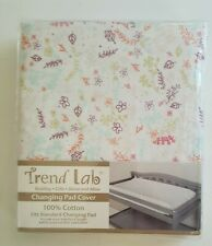 Trend Lab Changing Pad Cover Floral Print