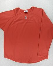 Boston Red Sox Therma Base Pitchers Baseball WarmUp Pullover (Adult XL) Red