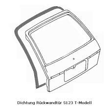 Mercedes Benz S123 T-Modell Dichtung Kofferraumklappe Heckdeckel Rückwandtür Neu
