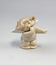 Porzellan Figur Engelchen - Ich lach mich Kaputt! Nao Lladro Spanien 9956055