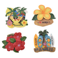 Hawaii Flower Fridge Magnet Decor Refrigerator Magnetic Sticker Travel Souvenir