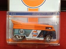 2013 Hot Wheels RLC Red Line Club Gulf Volkswagen VW Drag Bus #2344/4000 NEW!!