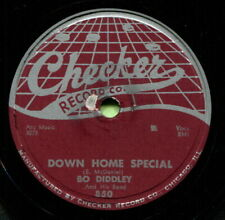 BO DIDDLEY (Cops & Robbers / Down Home Special) R&B/SOUL 78  RPM  RECORD