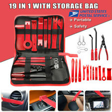 19Pack Car Trim Removal Tool Hand Tools Pry Bar Panel Door Interior Clip Kit Set