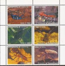 1999 Insects on Stamps - Block of 6 Stamps - 19B-188