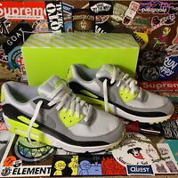 Nike Air Max 90 OG 2020 Volt White Gray Black Men's Size 11 NEW CD0881-103