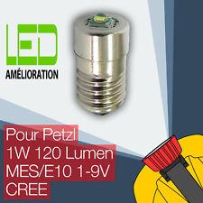 Petzl LED mise à niveau ampoule lampe frontale Zoom Duo E10 1W 120LM CREE