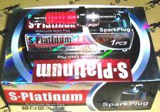 Spark Plug Iridium Super platinum GY6 50cc 150cc Chinese Scooter ~US Seller
