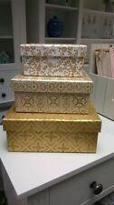 Paper Rectangular Decorative Boxes, Jars & Tins