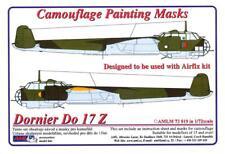 AML Models 1/72 CAMOUFLAGE PAINT MASKS DORNIER Do-17Z German Bomber