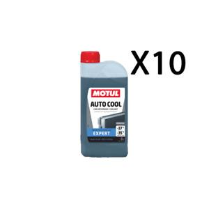 MOTUL Coche Cool Expert -37 Líquido Fluido Refrigerante Radiador Listo 10 Litros