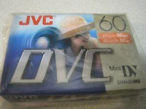 JVC Mini DV Tape DVM60ME M-DV60DU Digital Video Recording Cassette DVC Sealed