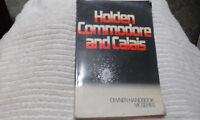 Holden VK Commodore & Calais Owners Handbook/Manual 1984 vintage collectible