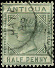 Antigua Scott #12 Used