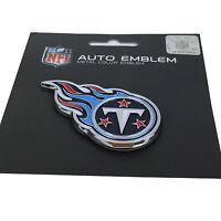 New NFL Tennessee Titans Auto Car Truck Heavy Duty Metal Color Emblem