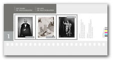 Canada 2626 Canadian Photography souvenir sheet (3 stamps) MNH 2013