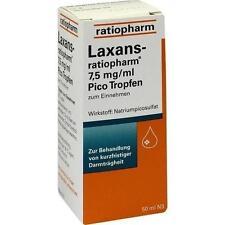 LAXANS ratiopharm 7,5 mg/ml Pico Tropfen 50ml PZN 4687809