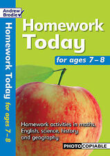 Homework Today: For Ages 7-8 (Homework Today), Brodie, Andrew, New Book