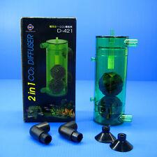 Co2 Diffuser Reactor - Aquarium Atomizer Fish Tank Stone Kit System 4/6mm tubing