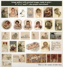 Little Ones (Children) - 90 Printable Images (Paper or Fabric) - CD