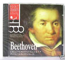 BEETHOVEN CELLO SONATA N 2 & 5 PIANO SONATA N 26 / CD